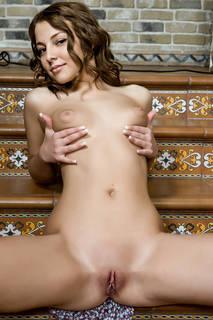 Agraciado foto chica desnuda.